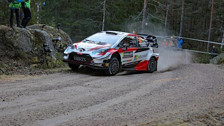 Kalle Rovanperä, shakedown 2020. Foto: Örjan Bengtzing/Sveriges Radio.