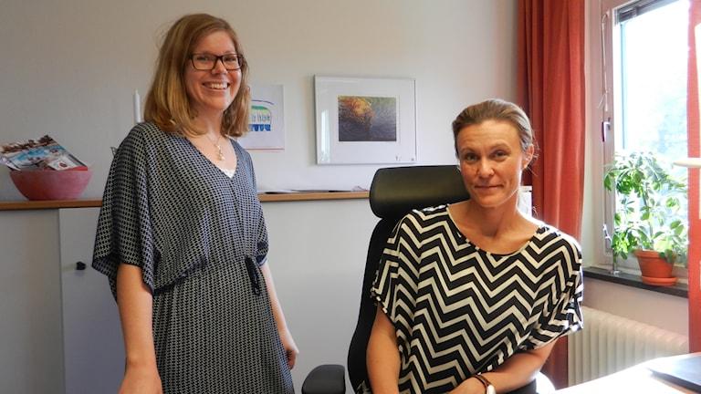 Ingela Larsson och Frida Johansson Handelskammaren i Värmland