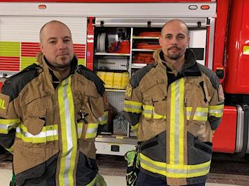 Räddningstjänsten patrullerar mot raketbus i Sunne