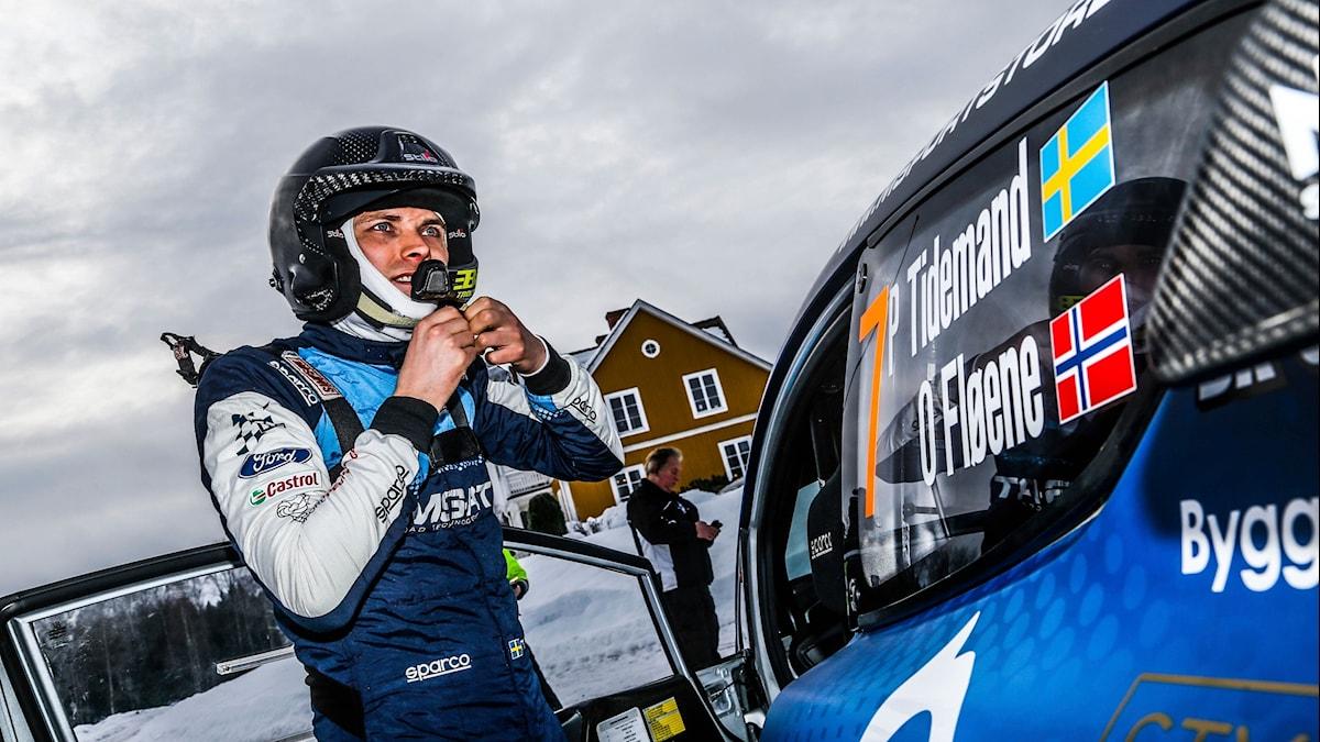 Pontus Tidemand kör Rally X on ice