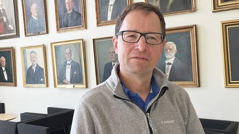 Lars Holmgård, lagman vid Värmlands tingsrätt. Foto: Malin Björk/Sveriges Radio.
