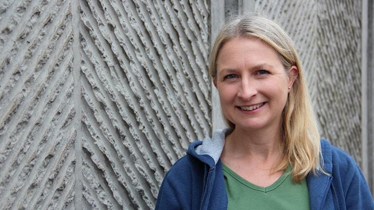 Maria Wikström, kirurg.  Foto: Rebecka Kettil/Sveriges Radio
