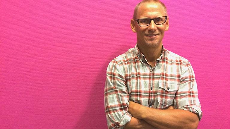 Forskaren Martin Kristiansson.
