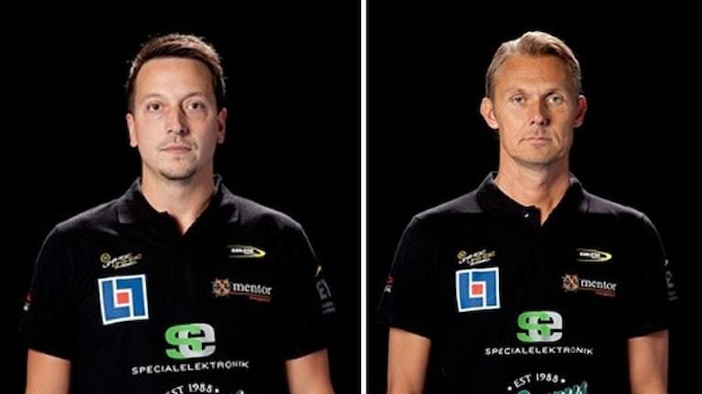 Henrik Nirs och Dan Lundqvist. Foto: Karlstads IBF.