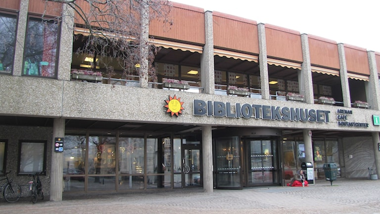 Bibliotekshuset i Karlstad. Foto: Magnus Hermansson/Sveriges Radio.