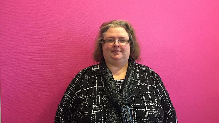 Susanne Brandenheim, nydisputerad doktor i ämnet stigmatisering av feta människor.