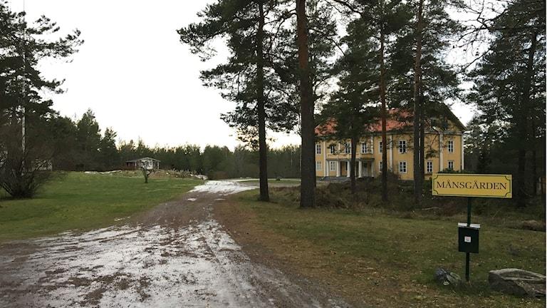 Månsgården, på Månsberget i Karlstad. Foto: Magnus Hermansson/Sveriges Radio.