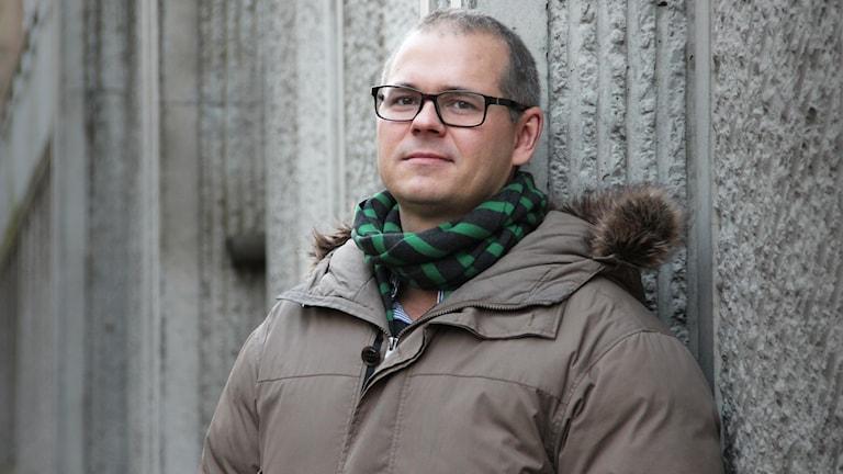 Peder Hyllengren. Foto: Lars-Gunnar Olsson/Sveriges Radio.
