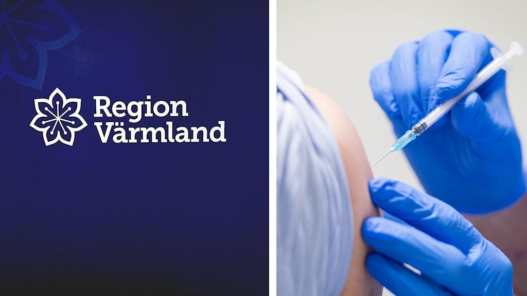 Vaccinering och region värmlands logotyp
