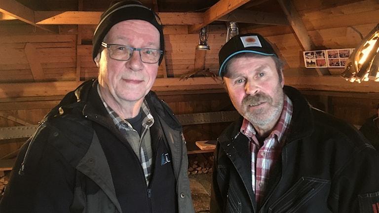 Mats Andersson och Johnny Olsson. Foto: Per Larsson/Sveriges Radio.