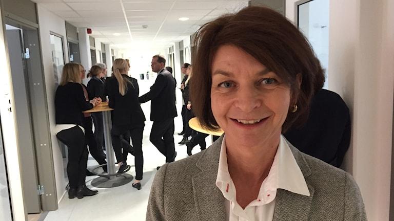 Gunilla Paulsson Lindberg, ny chef och direktör för Fastighetsmäklarinspektionen.