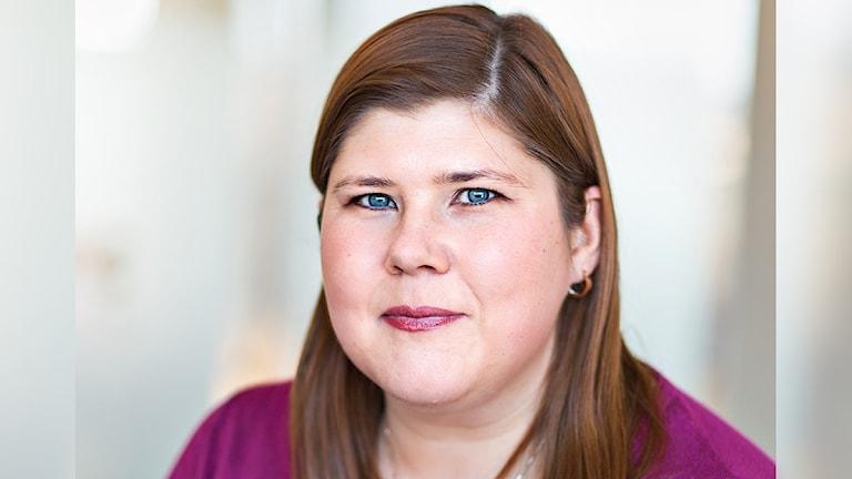 Carina Djärv, BRÅ. Foto: Pressbild.
