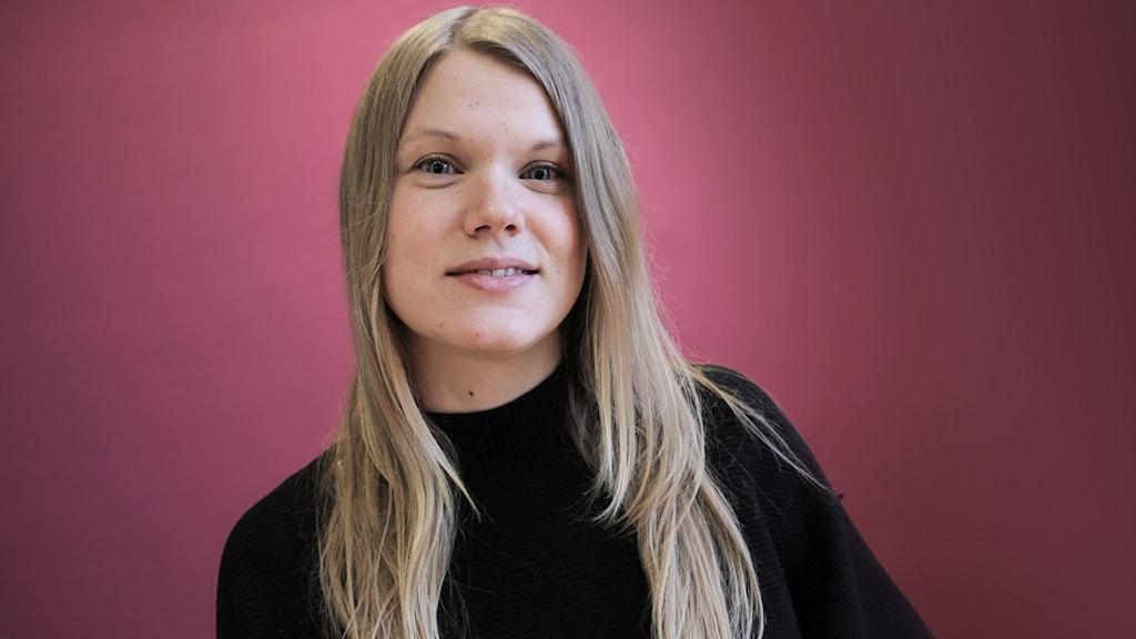 Linda Åkerberg, Karlstad. Foto: Lars-Gunnar Olsson/Sveriges Radio.