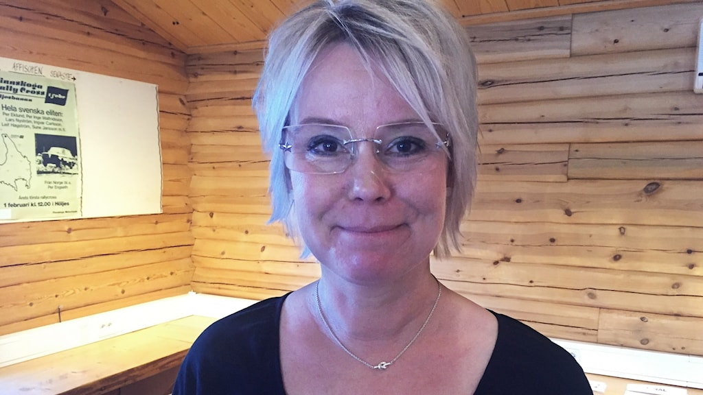 Maria Björk Svensson. Foto: Sara Johansson/Sveriges Radio