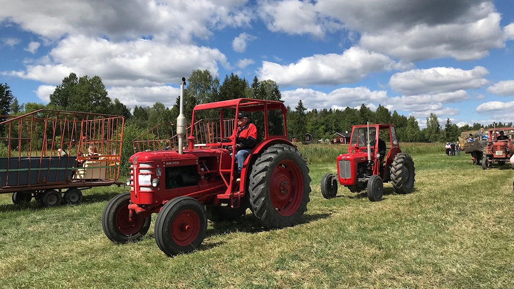 Traktorer på Ullermuller.