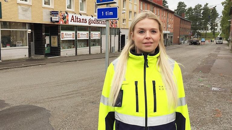 Natalie Andersson. Foto: Robert Ojala/Sveriges Radio.