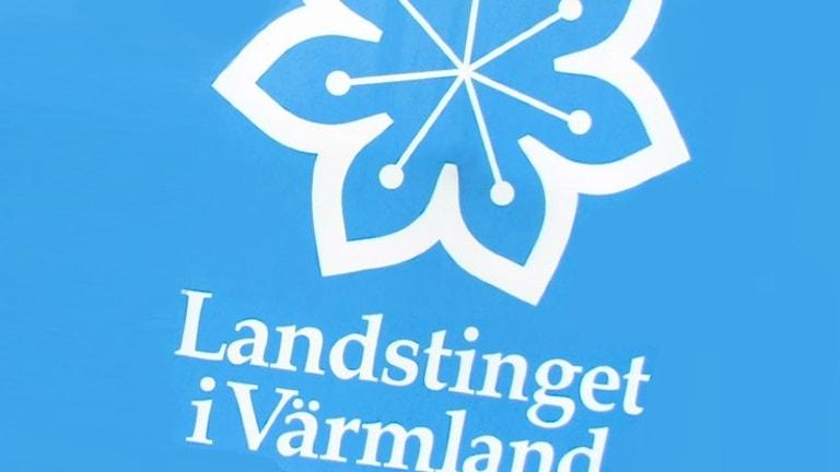 Landstingets logotype. Foto: Sveriges Radio.