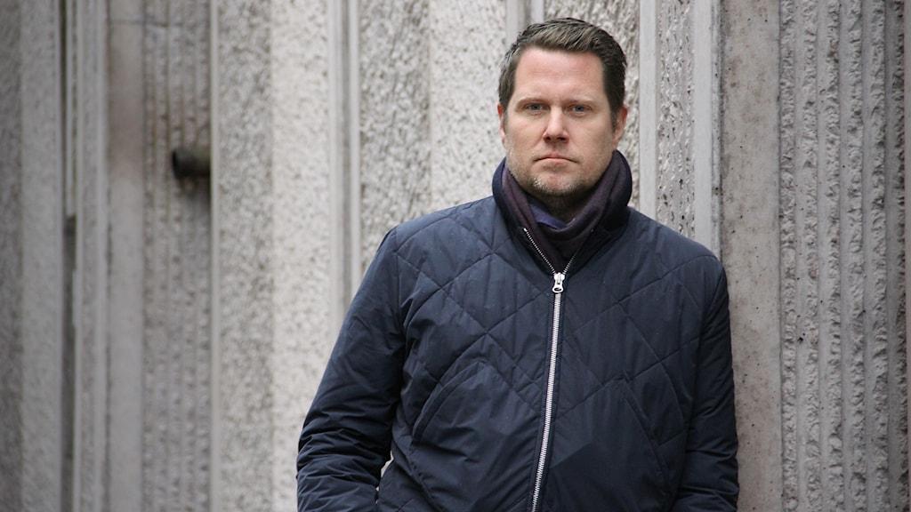 Lars Wingefors. Foto: Lars-Gunnar Olsson/Sveriges Radio.