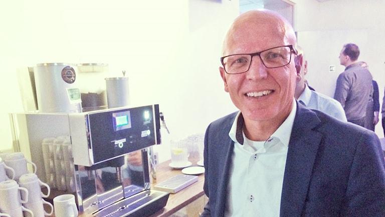 Anders Larsson, affärschef SJ. Foto: Jenny Tibblin/Sveriges Radio.
