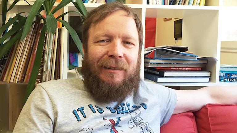 Joakim Olsson. Foto: Per Larsson/Sveriges Radio.