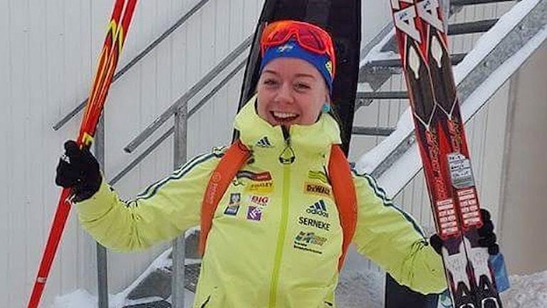 Chardine Sloof, Bore Biathlon. Foto: Privat.