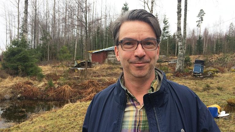 Henrik Hyllsjö. Foto: Per Larsson/Sveriges Radio.