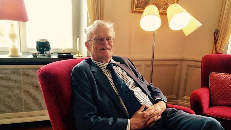 Björn Eriksson gästföreläste