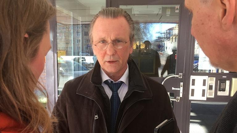 Thomas Olsson. Foto: Per Larsson/Sveriges Radio.