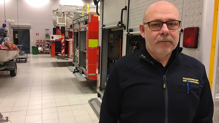 Krister Davidsson, räddningschef i Årjäng