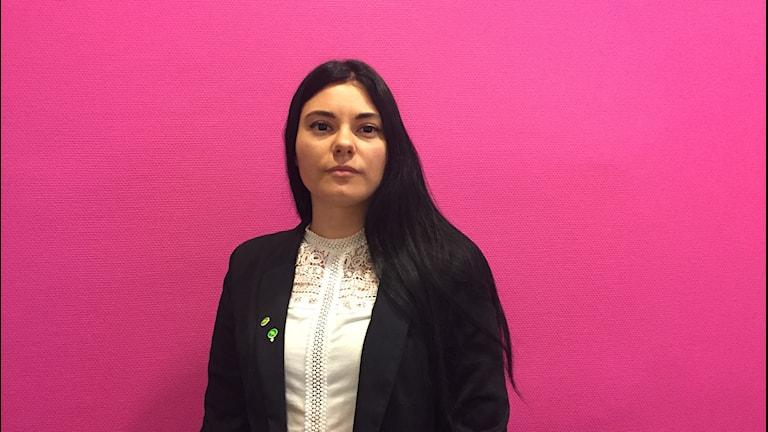 Alina Koltsova, sekreterare Miljöpartiet i Arvika.