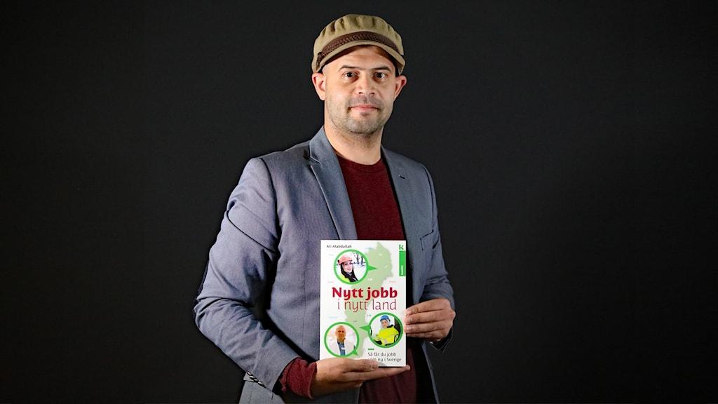 Ali Alabdallah, journalist och författare. Foto: Örjan Bengtzing/Sveriges Radio