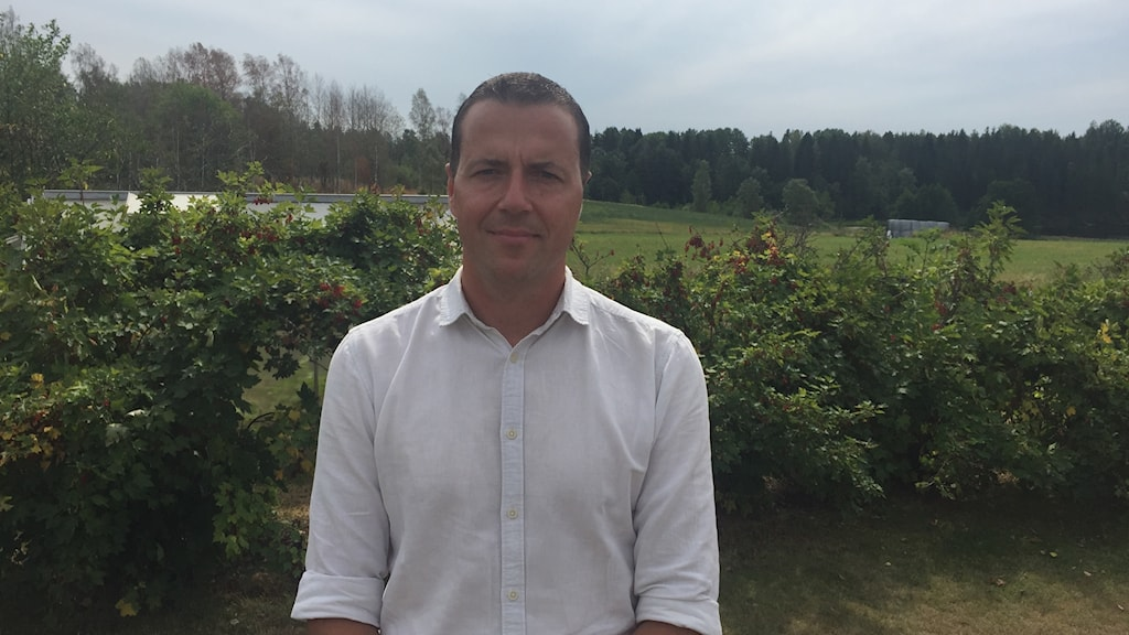 Peter Söderström (S) kommunalråd Arvika. Foto: Jonathan Borg/Sveriges Radio