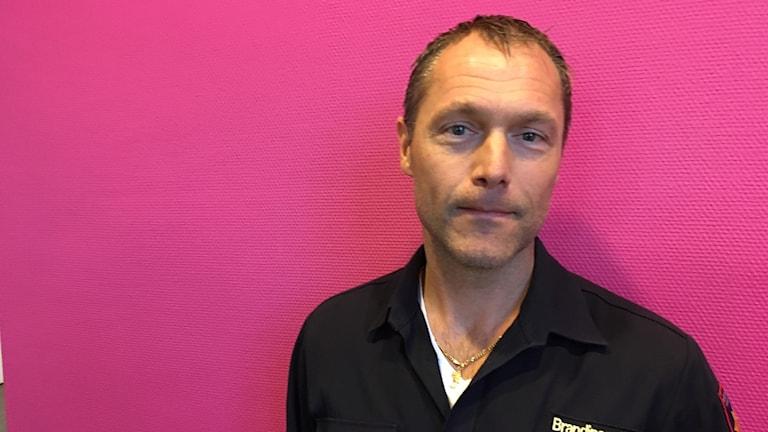 Henrik Kindberg, brandinspektör.