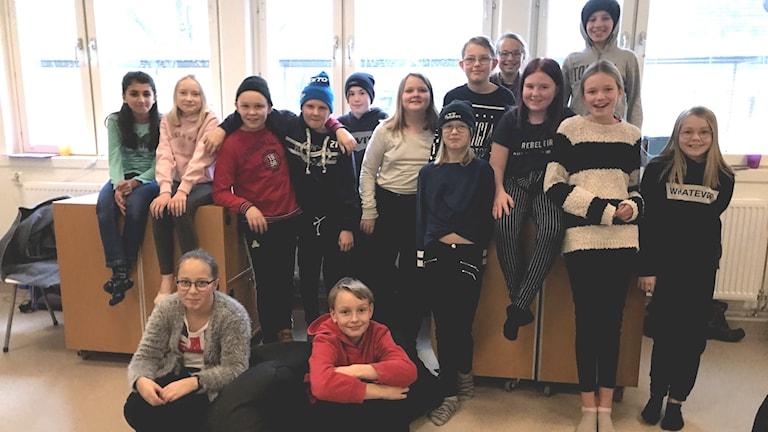 Forsnässkolan 5A. Foto: Privat,