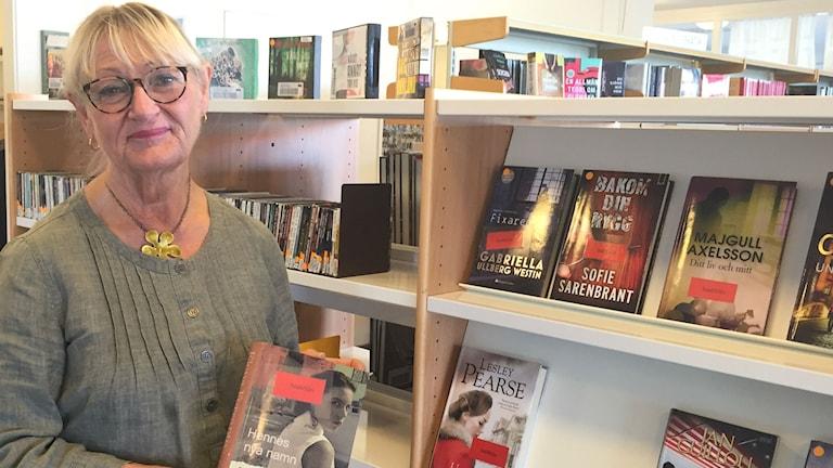 Lena Hassellund, bibliotekschef
