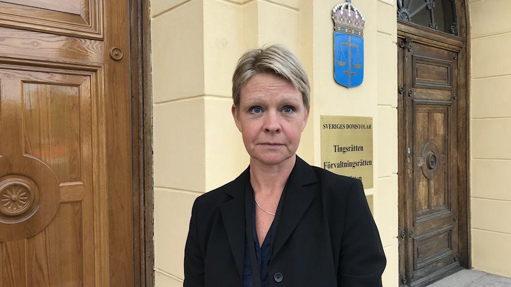 Kristina Persson. Foto: Per Larsson/Sveriges Radio.