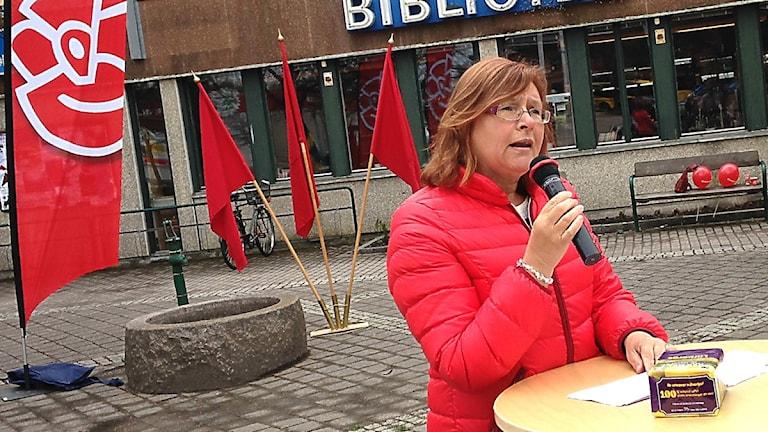 Gunilla Svantorp. Foto: Sveriges Radio.