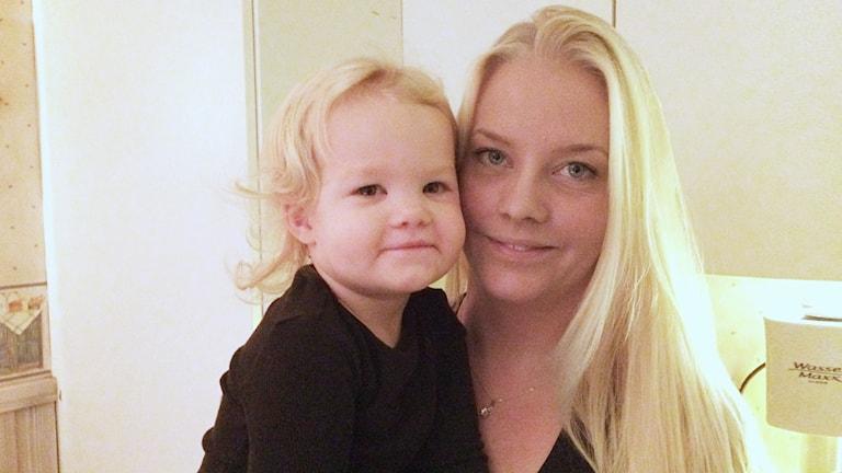 Lily och Sara Larsson. Foto: Per Larsson/Sveriges Radio.