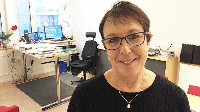 Ann-Katrin Järåsen (S). Foto: Robert Ojala/Sveriges Radio.
