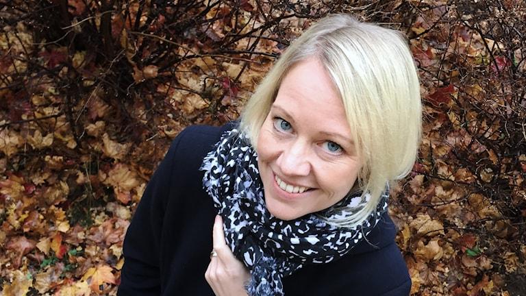 Annika Thörnquist. Foto: Tomas Hedman/Sveriges Radio.