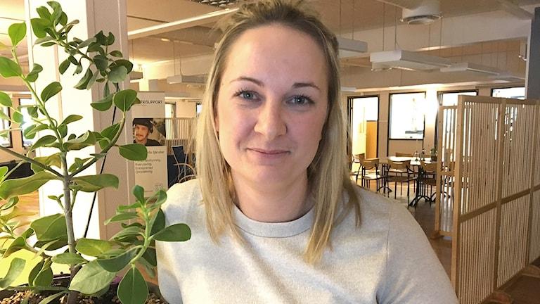 Lisa Gärdt. Foto: Sara Johansson/Sveriges Radio.