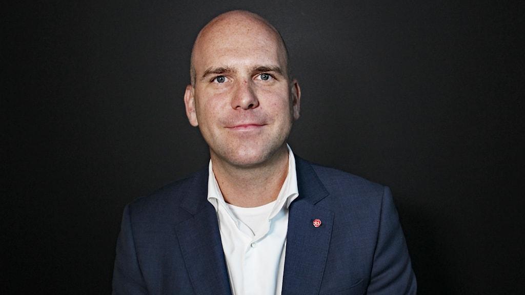 Anders Tallgren (S). Foto: Lars-Gunnar Olsson/Sveriges Radio.