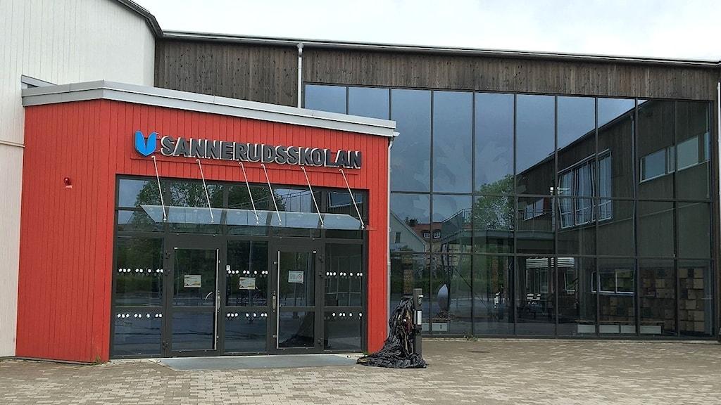 Sannerudsskolan i Kil. Foto: Magnus Hermansson/Sveriges Radio.