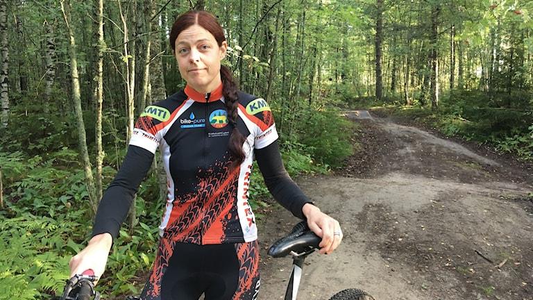 Lisa Hällsten, OK Tyr Cykel. Foto: Per Larsson/Sveriges Radio.