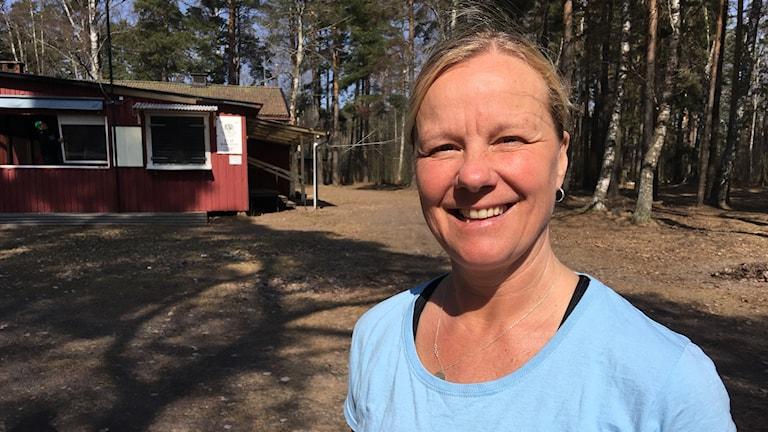 Petra Johansson bakluckeloppisen Karlstad Foto Sveriges Radio Per Larsson