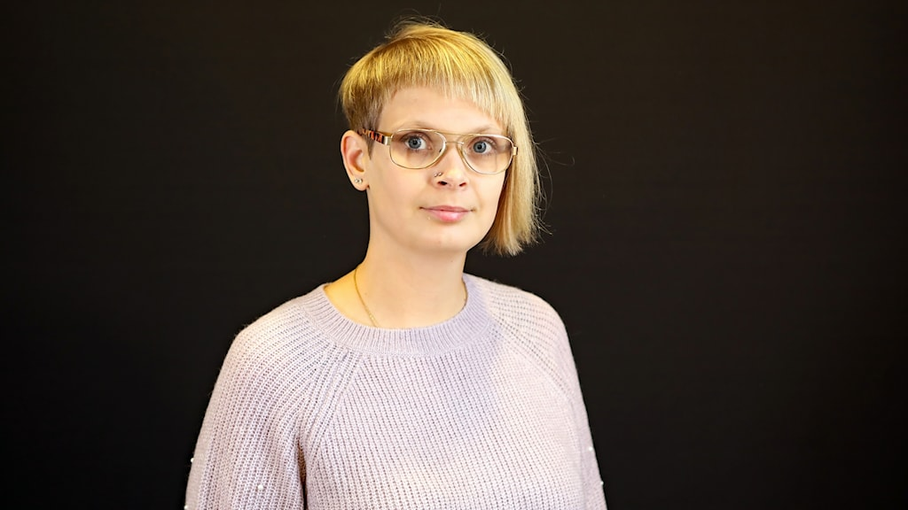 Joanna Halvardsson, årets eldsjäl. Foto Örjan Bengtzing/Sveriges Radio.