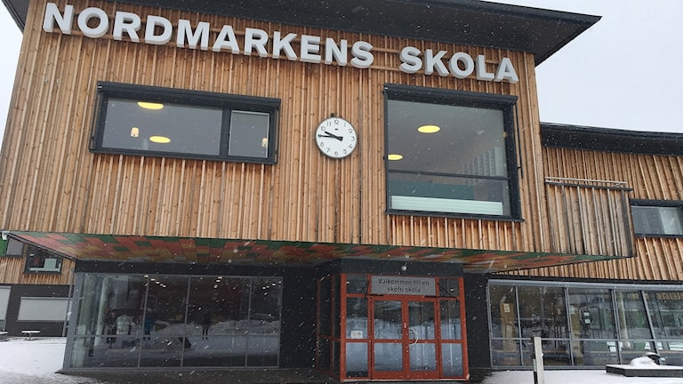 Nordmarkens skola. Foto: Sara Johansson/Sveriges Radio.