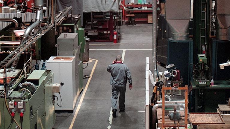 Ineriör från SAAB Bofors fabrik i Karlskoga. Foto: Fredrik Persson/SCANPIX.