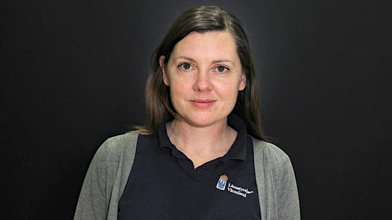 Maria Falkevik, Länsstyrelsen i Värmland. Foto: Lars-Gunnar Olsson/Sveriges Radio.