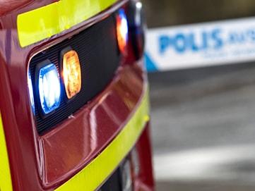 Brand i villa i Hagfors – två personer förda till sjukhus